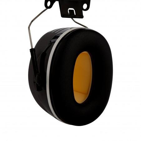 3M™ PELTOR™ Cuffie auricolari Serie X,   X5P3 Cuffia attacco elmetto nera  36 dB