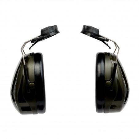 3M™ PELTOR™ Optime™ II Cuffie auricolari, 30 dB, verdi, con attacco per elmetto, H520P3E-410-GQ
