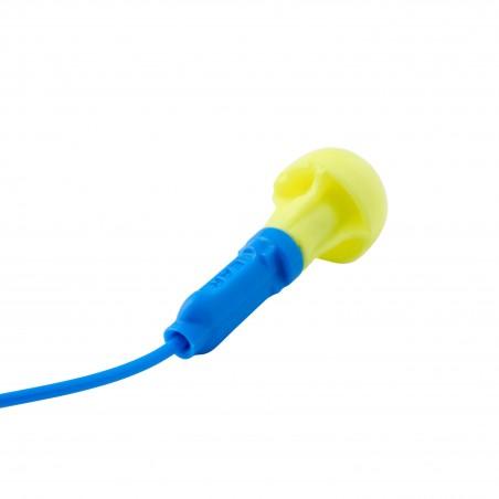 3M™ E-A-R™ Push-Ins Inserti auricolari, 38 dB, con cordino, 400 paia per confezione, EX-01-020