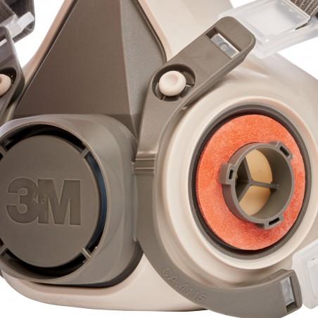 3M™ Semimaschera riutilizzabile, Grande, 6300