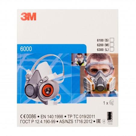 3M™ Semimaschera riutilizzabile, Piccola, 6100