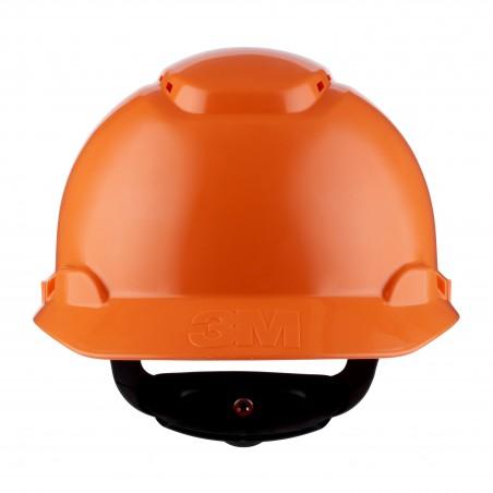 3M™ Elmetto di protezione, cricchetto, ventilato, arancione, H-700N-OR