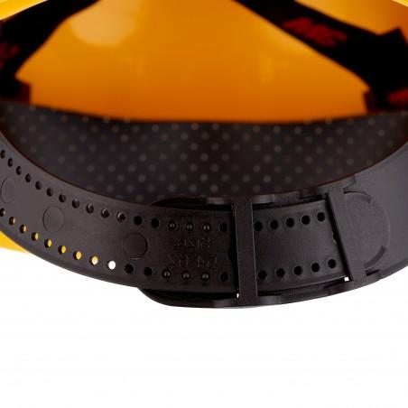 3M™ Elmetto rigido, senza cricchetto, ventilato, giallo, H-700C-GU