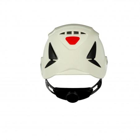 3M™ SecureFit™ Elmetto, X5501V-CE, bianco, ventilato, marchio CE, 10 unità/cartone