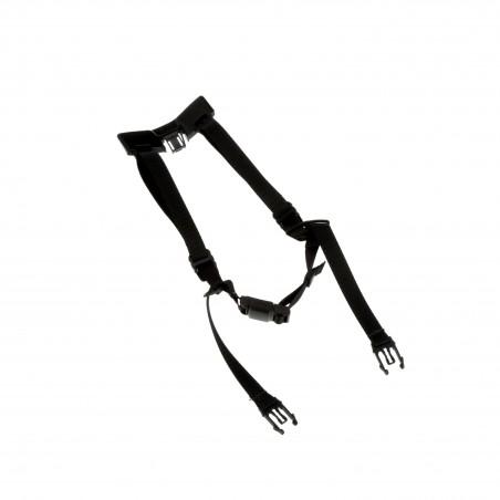 3M™ X5-P4PTCS1 Sottogola Premium a 4 punti con fibbia magnetica per elmetto SecureFit™