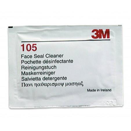 3M™ Salviette detergenti per bordi di tenuta facciale 105