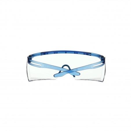 3M™ SecureFit™  3700 Sovraocchiale, blu, rivestimento anti-appannamento Scotchgard™ (K&N), lenti trasparenti, SF3701SGAF-BLU