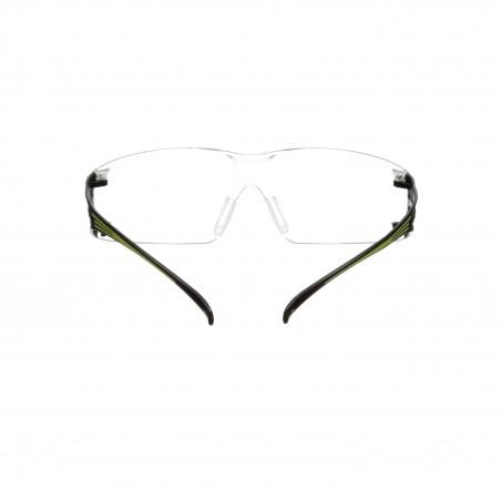 3M™ SecureFit™ Occhiali di protezione da lettura con lenti trasparenti +2,5, antigraffio e anti-appannamento, SF425AS/AF-EU