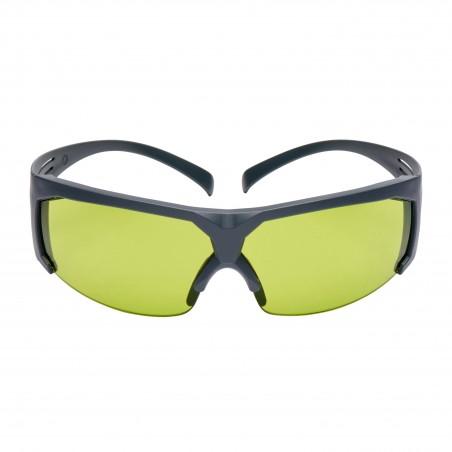 3M™ SecureFit™  SF617AS-EU Occhiali di protezione, montatura grigia, antigraffio, lenti da saldatura con gradazione 1.7 IR.