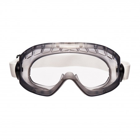 3M™ 2890SA Occhiali a mascherina di protezione, lente trasparente in acetato (AF), a tenuta di gas, banda elastica