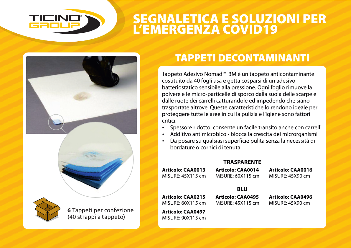 Tappeto decontaminante 3M